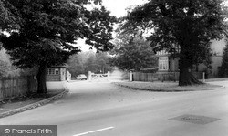 Entrance To Sutton Park c.1965, Streetly
