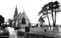 Strensall, Church Of St Mary The Virgin c.1960
