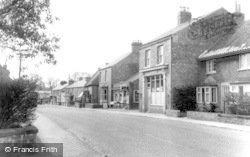 Strensall, Main Street And Post Office c.1960