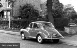 Strensall, Morris Minor 1000 c.1960