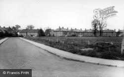 Strensall, Northfields c.1955