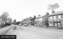 Strensall, Station Road c.1960