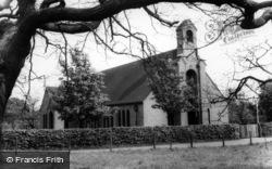 Strensall, The Garrison Church c.1960