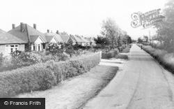 Craythorne Road c.1950, Stretton