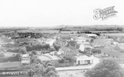 From The Church Tower c.1960, Stretton