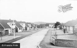Hurst Drive Estate c.1960, Stretton