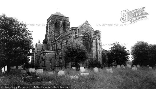 Photo of Stretton, St Mary's Church c.1960