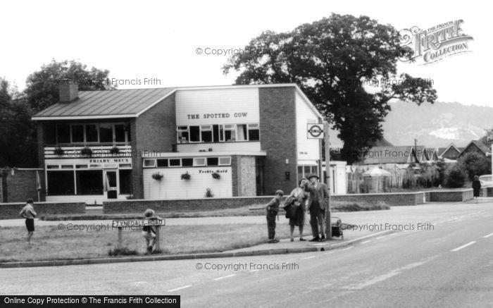 Strood Green, the Spotted Cow 1963