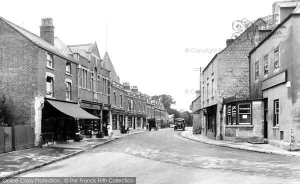 Stroud, Cainscross looking towards Ebley 1925