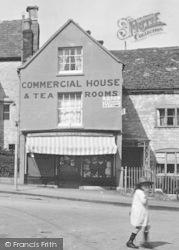Stroud, Cainscross Tea Rooms 1925
