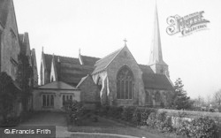 Stroud, Church Of St Laurence 1890