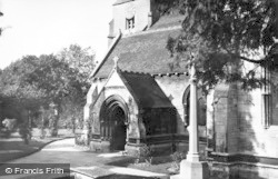 Stroud, Entrance To The Church c.1955
