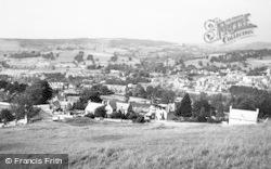 Stroud, From Rodborough Common c.1960