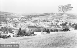 Stroud, From Rodborough Common c.1965
