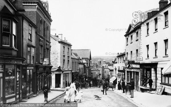 Stroud, High Street 1910