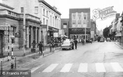 Stroud, King's Street Parade c.1960