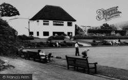 Stroud, Stratford Park Bowling Green c.1965