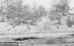 Stroud, The House And Lake, Stratford Park 1938
