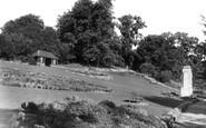 Stroud, the Park Gardens c1955