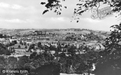 Stroud, View Of Upper Stroud c.1955