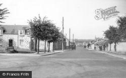 Stuartfield, Burnett Street From The Square c.1950
