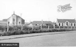 Stuartfield, Church, Cottages And Church Hall c.1950