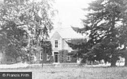 Stuartfield, Crichie House c.1960