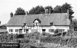 Stubbington, Old Thatched Cottages c.1955