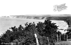 Studland, The Bay 1899