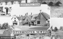 Sturminster Newton, Composite c.1960
