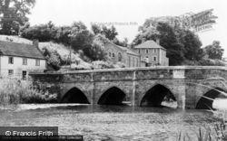 Sturminster Newton, The Bridge c.1960