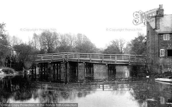 Sudbury, Ballingdon Bridge 1900