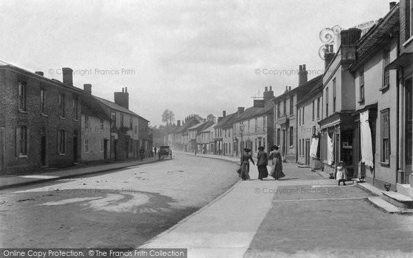 Sudbury, Ballingdon Street 1904