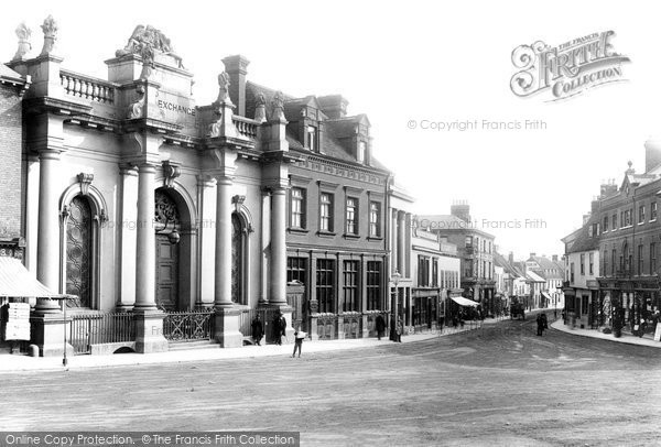 Sudbury, Exchange 1895