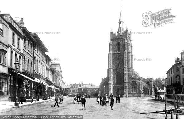 Sudbury, Market Hill 1900