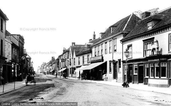 Sudbury, North Street 1895