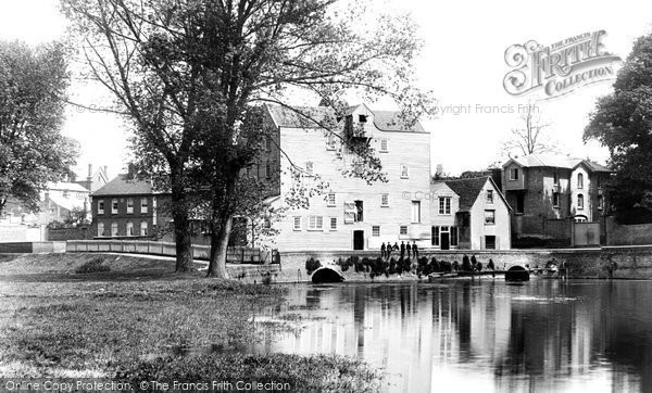 Sudbury,The Mill 1895,Norfolk