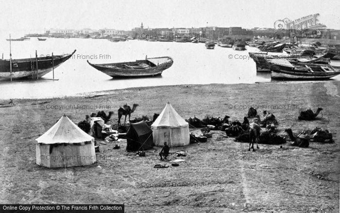 Photo of Suez, Frith's Encampment 1858