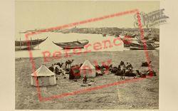 Frith's Encampment 1858, Suez