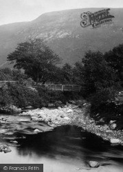 Sulby, Footbridge,Sulby Glen 1894