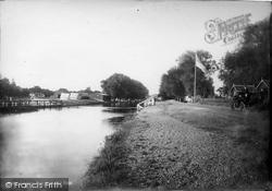 Sunbury, From Weir Hotel 1890