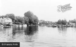 Sunbury, River Thames c.1955