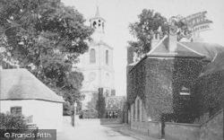 Sunbury, St Mary's Church 1890