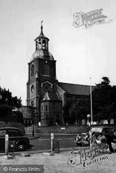 Sunbury, St Mary's Church c.1955