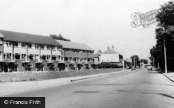 Sunbury, Staines Road East c.1955
