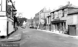 Sunbury, Thames Street c.1955