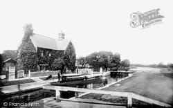 Sunbury, The Lock 1890