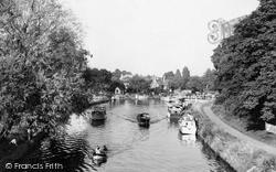 Sunbury, The River Thames c.1960