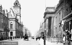 Sunderland, Fawcett Street 1890