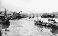 Sunderland, Shipyards on the Wear c1900